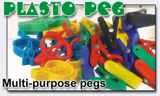 Plasto Peg - Multi-Purpose pegs...